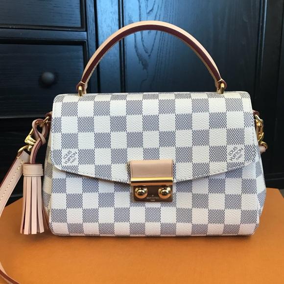 19a01479eb2b Louis Vuitton Handbags - BRAND NEW LV CROISETTE DAMIER EBENE